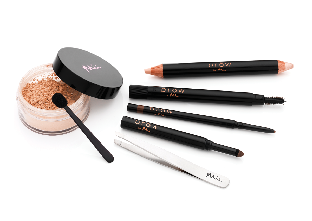 Mii Cosmetics, Brow by Mii products used by Cosmopolitan to create three difference brow looks