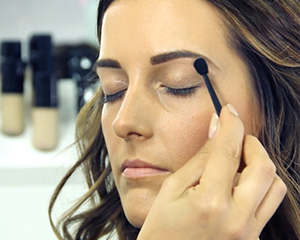 Mii Cosmetics tutorial showing you how to go from day to night with your eyebrows