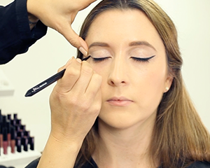 Mii Cosmetics showing you how to create effortless winged liner, that anyone can achieve.