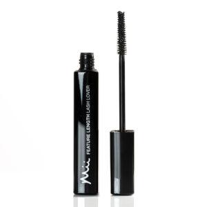 Mii Feature Length Lash Lover Mascara FL01 open wand