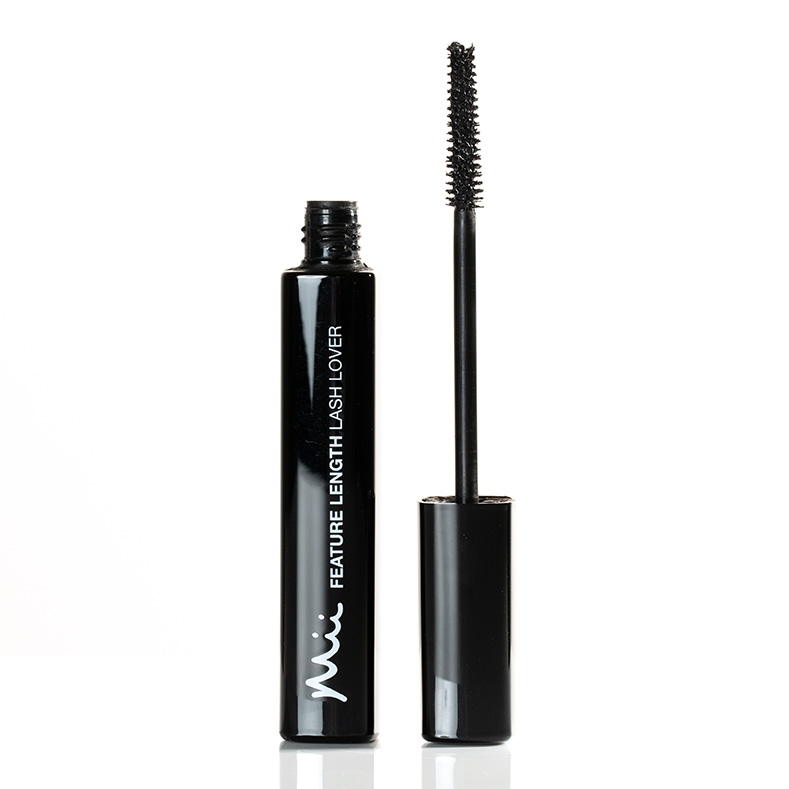 Mii Feature Length Lash Lover Mascara FL01 open wand