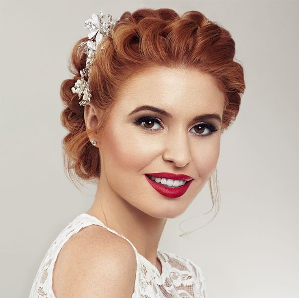 Mii Cosmetics Vintage Bridal Beauty Look