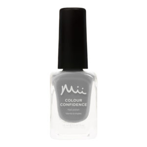 Mii Colour Confidence Nail Polish Cool Grey