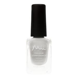 Mii Colour Confidence Nail Polish Silver Baubles