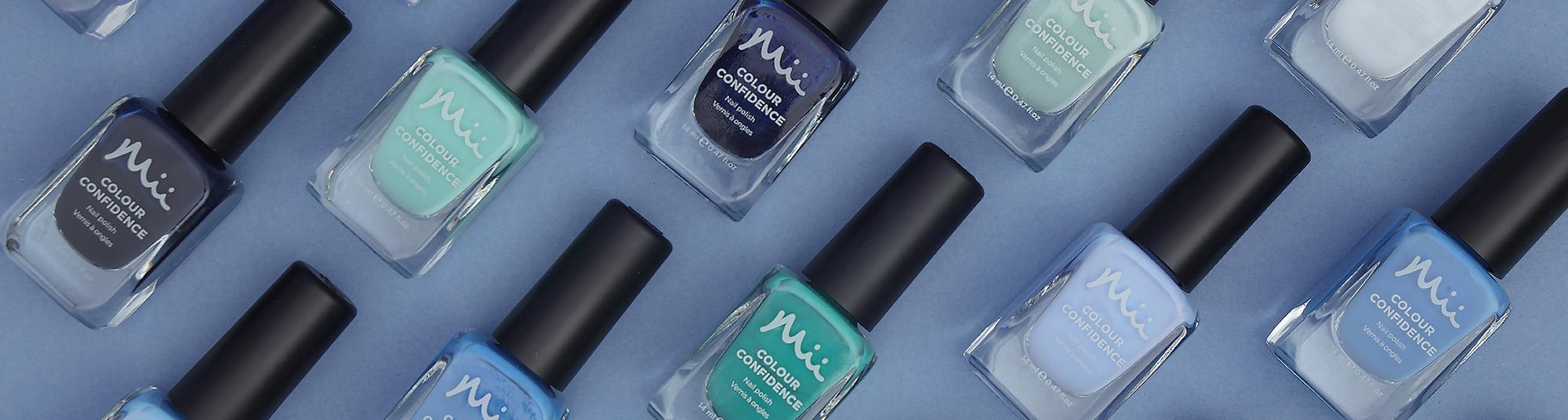 Mii Mii Colour Confidence Nail Polish Green & Blue Category