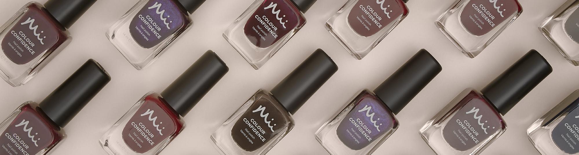 Mii Colour Confidence Nail Polish Dark Category