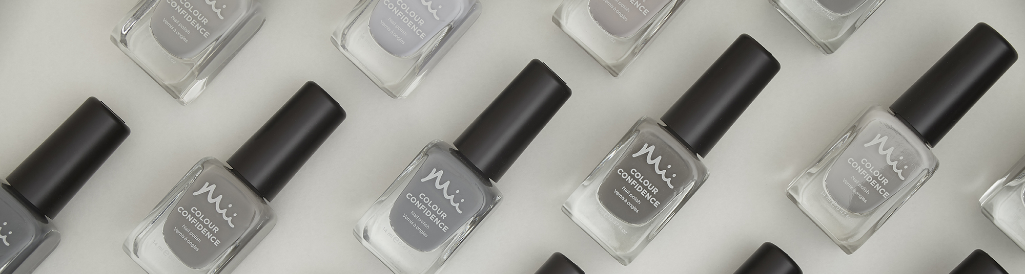 Mii Colour Confidence Nail Polish Grey Category