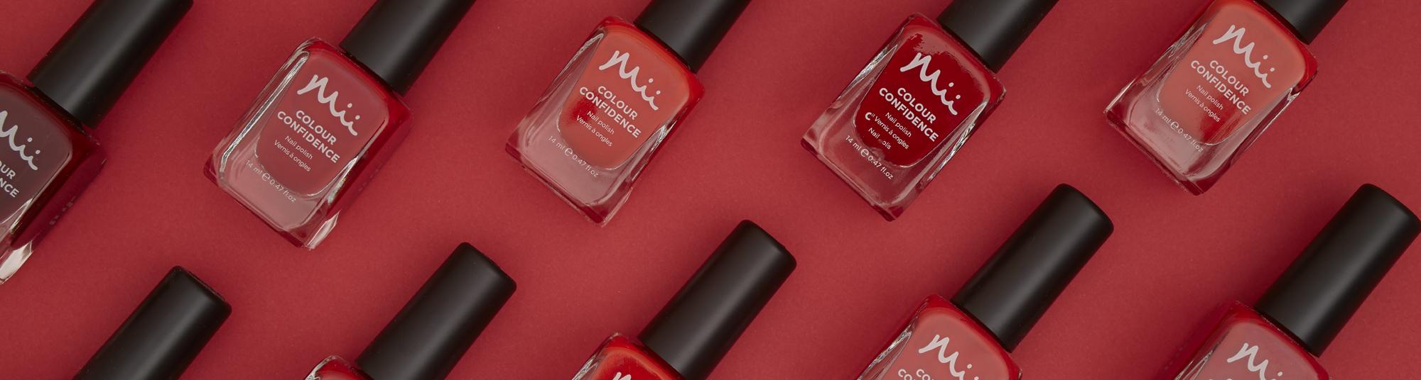 Mii Colour Confidence Nail Polish Red Category